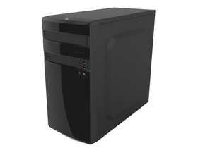 Carcasa PC AIO Bohemian II High Gloss Black