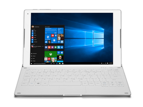 Alcatel Plus 10 32GB Wifi + 4G/LTE tablet + billentyűzet, Silver (Windows 10)