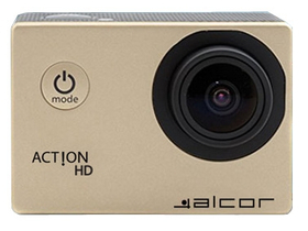 Cameră sport Alcor Action HD, auriu