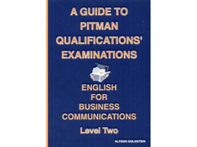 Alyson Goldstein - English for business communications - Level Two /PITMAN/