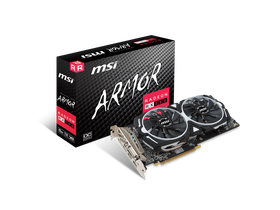 Placa video MSI PCI-Ex16x AMD RX 580 ARMOR OC 8GB DDR5