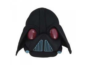 Pluș Angry Birds Star Wars, 13 cm, Darth Vader