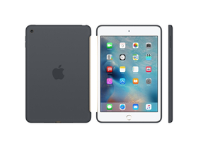 Apple iPad mini 4 szilikontok, szénszürke (mklk2zm/a)