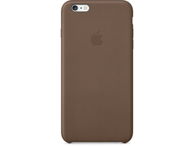 Husă piele Apple iPhone 6 Plus, Olive Brown (mgqr2zm/a)