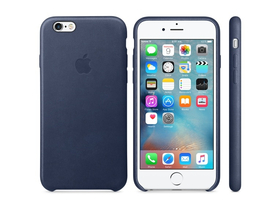 Toc din piele Apple iPhone 6s, blue (mkxu2zm/a)