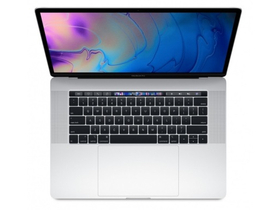 "Apple MacBook Pro 15"" Touch Bar,SC i7 2.6GHz,16GB,512GB SSD,Radeon Pro 560X w 4GB, magyar (HUN) bill., ezüst (mr972mg/a)"