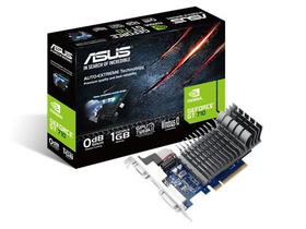 Card video pasiv Asus nVIDIA GT 710 1GB DDR3 (710-1-SL)