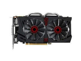 Placă video Asus NVIDIA GTX 950 2GB GDDR5 - STRIX-GTX950-DC2OC-2GD5-GAMING