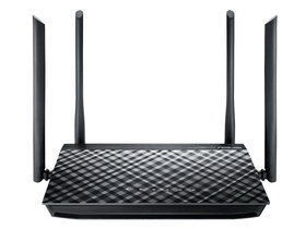 Asus RT-AC1200G+ AC1200 Mbps Dual-band gigabit WIFI router