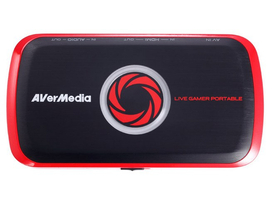 AverMedia C875 Live Gamer Portable (HDMI IN-OUT, AV IN, AUDIO IN-OUT, SD karta, USB 2.0)
