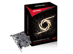 AverMedia Live Gamer HD Lite PCI-E Capture digitalizáló kártya
