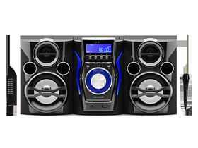 Blaupunkt MC60BT Micro Hi -Fi systém CD / MP3 / USB / Bluetooth / Karaoke Funkce Black
