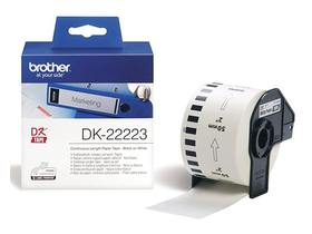 BROTHER trak DK22223 Continuous Paper Tape 50mm x 30.48m