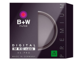 B+W UV MRC nano Extra Slim filter, 62mm