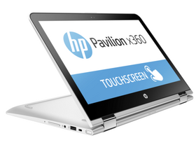 HP Pavilion x360 15-BK004NH 2 in 1, argintiu + Windows10