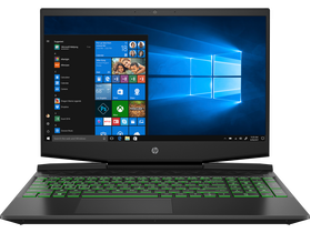 HP Pavilion 15-DK0001NH gamer notebook, čierny, HUN + Windows 10