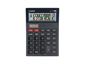 Calculator de birou Canon AS-120 mini, negru