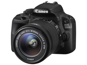 Canon EOS 100D  цифров фотоапарат (+18-55mm IS STM обектив)