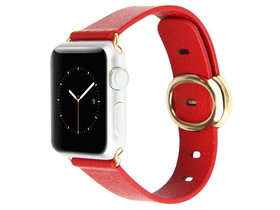 Baseus Modern series Apple Watch 38mm popruh, červený