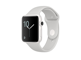 Apple Watch Edition, 42mm White Ceramic Case with Cloud Sport Band (mnpq2mp/a)