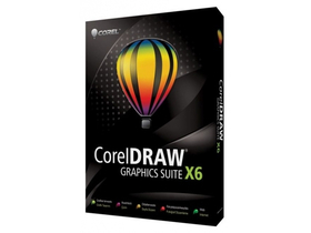 Corel CDGSX6IEHBBUG CorelDRAW Graphics Suite X6 Upgrade, anglicky jazyk