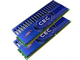 CSX 8GB Kit (2x4GB, 1600Mhz) Overclocking Desktop memorija