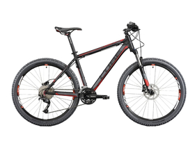 "Bicicleta Cube (2012) Hardtail Attention 14"" MTB, negru-rosu(303000-14-BNR)"