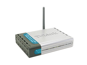 Router D-Link DI-524 54Mbps WLAN