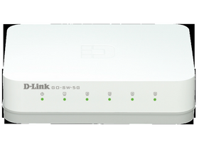 D-LINK GO-SW-5G 5 port Gigabit stolni switch