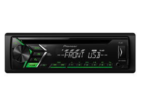 Player auto Pioneer DEH-S100UBG  CD/USB/AUX, verde