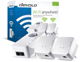 Devolo D 9645 dLAN 550 WiFi Network Kit