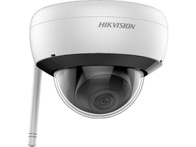 Hikvision (DS-2CD2141G1-IDW1) IP kültéri dómkamera (4MP, 2,8mm, H265+, IP66, IR30m, ICR, DWDR, SD,audio, wifi)