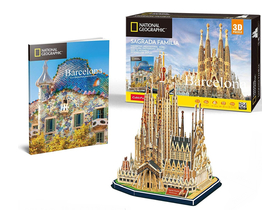 Cubic Fun 3D Puzzle City Traveller Barcelona