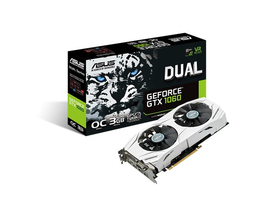 Placa video Asus nVidia GTX 1060 3GB GDDR5  - DUAL-GTX1060-O3G