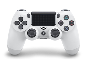 Controller Wireless PlayStation 4 (PS4) Dualshock 4 V2, alb