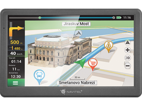 "NAVITEL E700 GPS-Navigation + Europe-Karte (47 Länder) 256 MB DDR, 7"" Display"