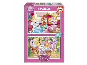 Puzzle Educa Disney Princess, Palace pets, 2x20 buc.