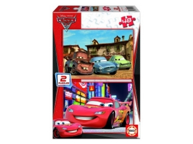 Educa Disney Cars 2 puzzle, 2x48 komada