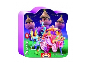 Puzzle Educa Princess Castle, 50 buc.