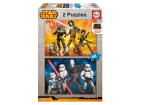 Puzzle Educa Star Wars Rebels, 2x48 buc.