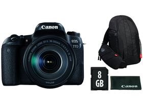 Canon EOS 77D kit (18-135 IS USM objektiv)