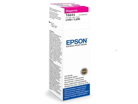 Epson T6643 мастилена касета-магента