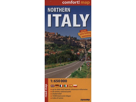 Expressmap - Northern Italy Road Map - 1:650 000