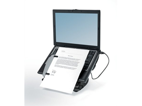 "Fellowes ""Professional Laptop Workstation"" notebook állvány USB portokkal"