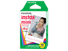 Fujifilm Colorfilm Instax Mini Glossy film, 10 ks