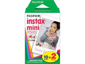 Fuji Colorfilm instax mini glossy film Instax gépekhez, 20-as