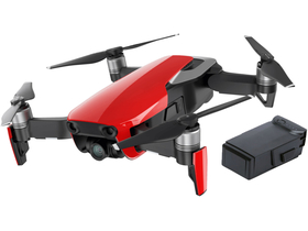 Drona DJI MAVIC Air Fly More Combo (Flame Red), rosu + acumulator DJI