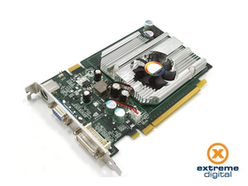 Card VGA GeForce 7600 GS DDR2 256MB PCI-E DVI TV-out