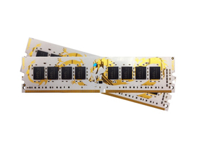 GeIL White Dragon Black IC DDR4 8GB 2400MHz CL16 KIT2 памет