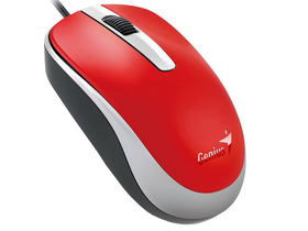 Mouse Genius DX-120 USB, roșu